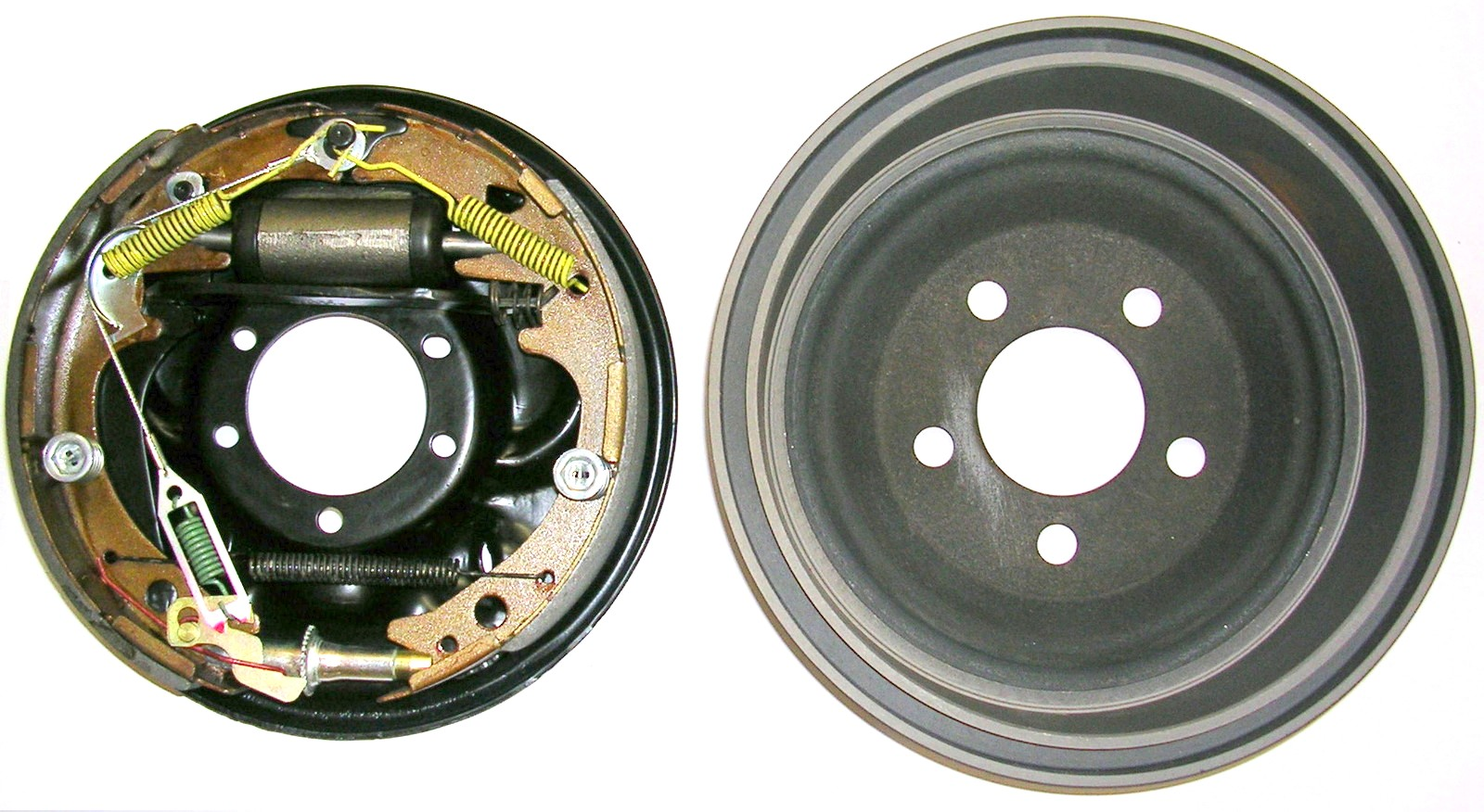 Mopar 10 x 2 1 2 quot Drum Brake Assembly