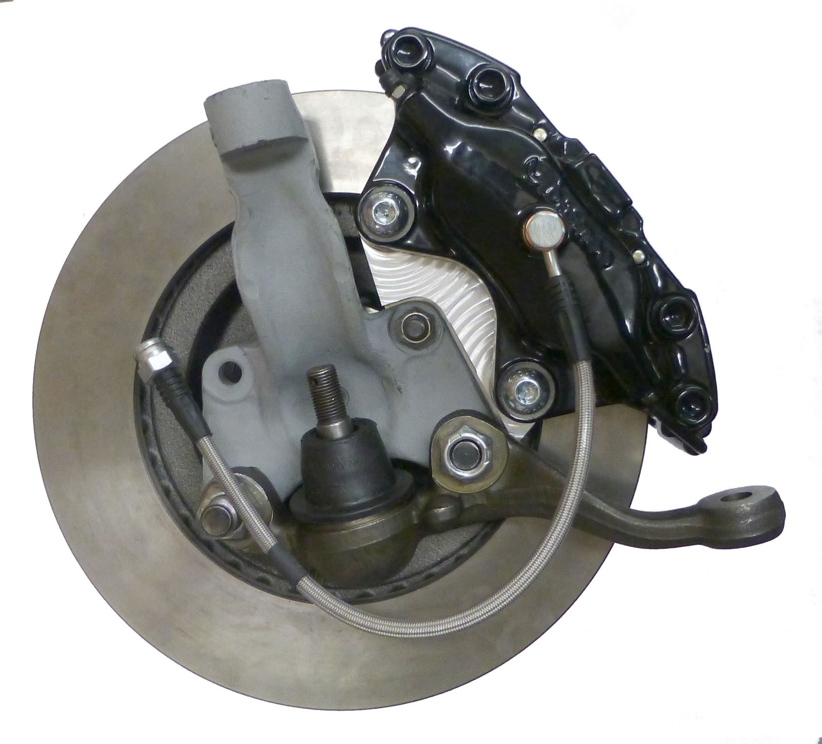 viper caliper on drum knuckle caliper knuckle and ball joint not included
