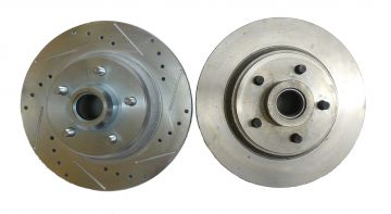 Choice of Drilled/Slotted/Plated or Standard
