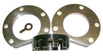 "3/8"" thick billet steel adjuster and retainer"