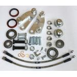 Includes mounting bracket, flex hose, and bearing/seal kit