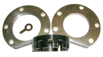 "3/8"" thick billet steel adjuster and retainer"
