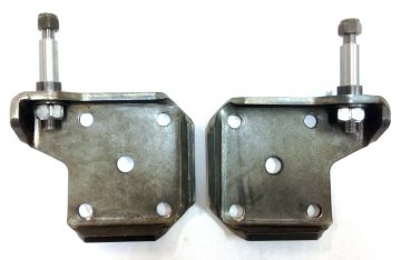 Shock plates for classic mopars
