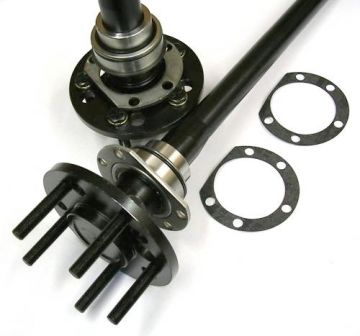 Axle package shown with Green Bearing installed