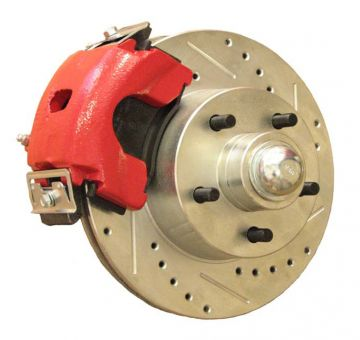 "Mopar 10.95"" Front Disc Brake Kit (optional Red calipers)"